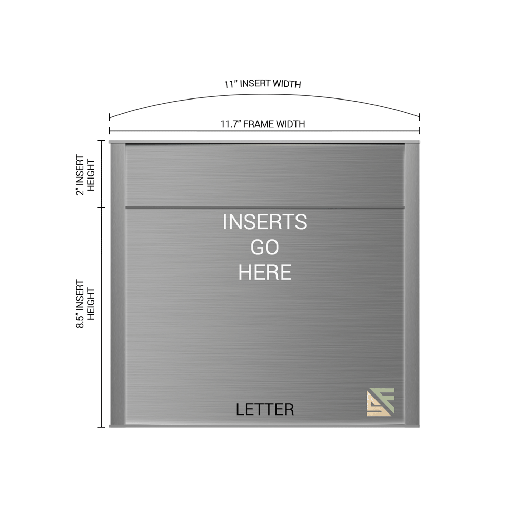 """Office Sign - 10.5""""H x 11.5""""W (2"""" Top) - WFNP163"""