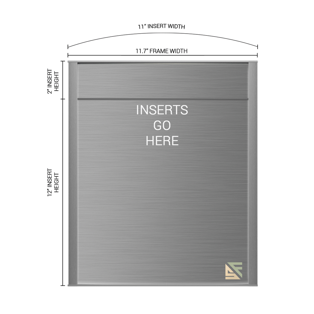 """Office Sign - 14""""H x 11.5""""W (2"""" Top) - WFNP167"""