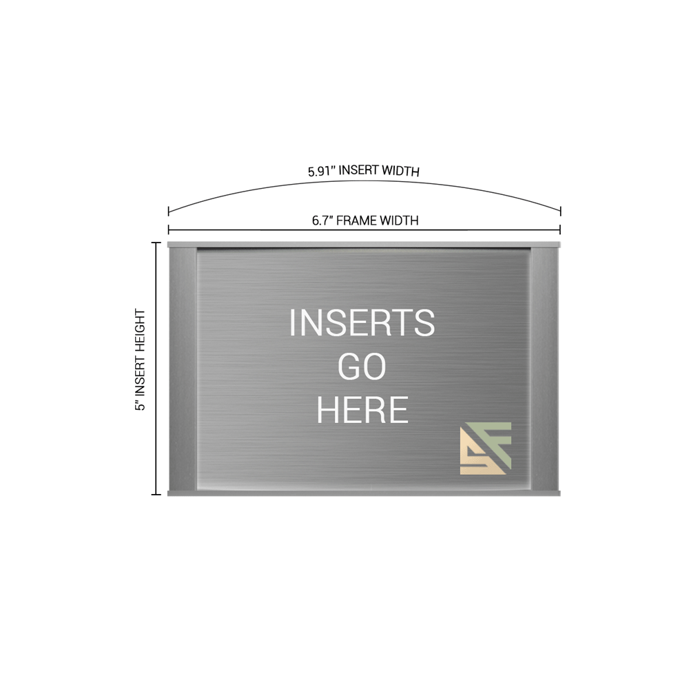 """Office Sign - 5""""H x 6.75""""W - WFNP28"""