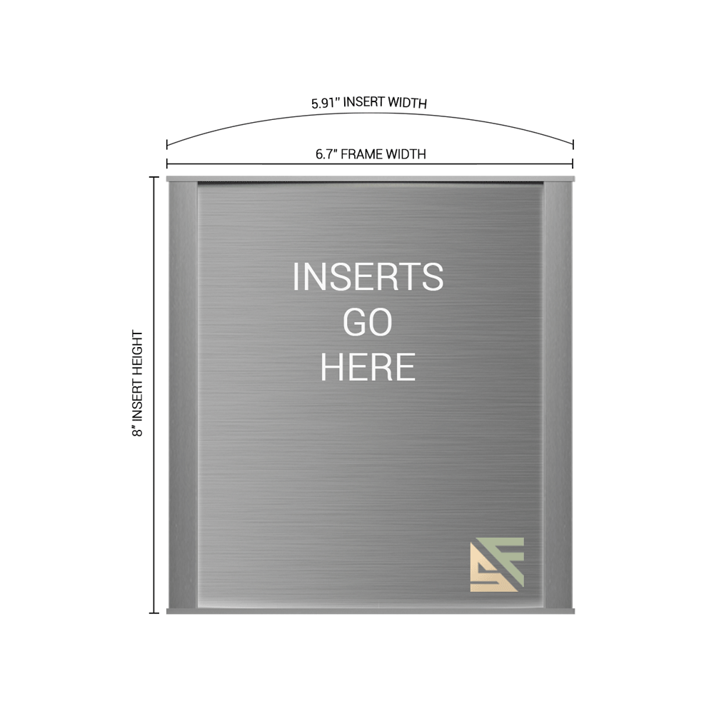 """Office Sign - 8""""H x 6.75""""W - WFNP33"""
