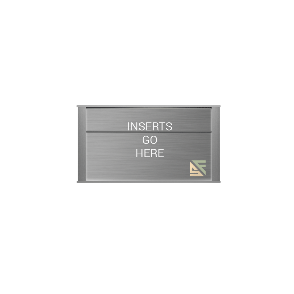 """Office Sign - 5""""H x 9""""W (2"""" Top) - WFNP59"""