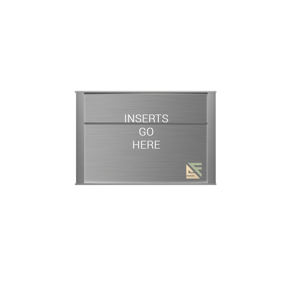 """Office Sign - 6""""H x 9""""W (2"""" Top) - WFNP61"""