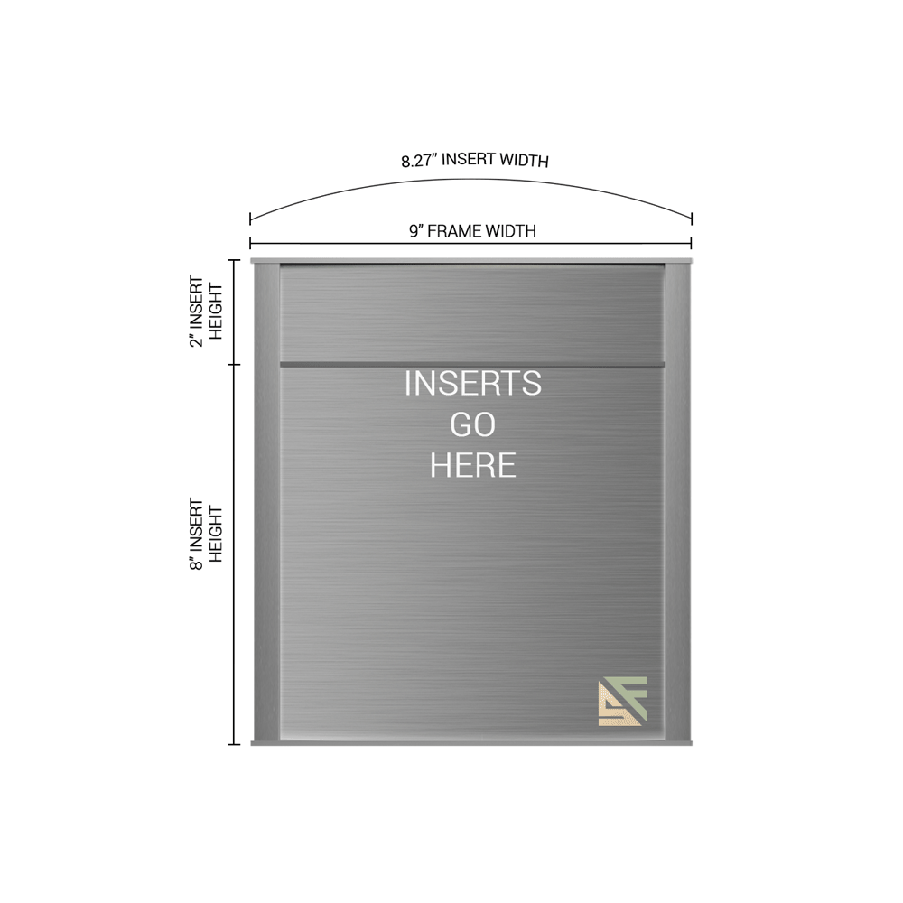 """Office Sign - 10""""H x 9""""W (2"""" Top) - WFNP65"""