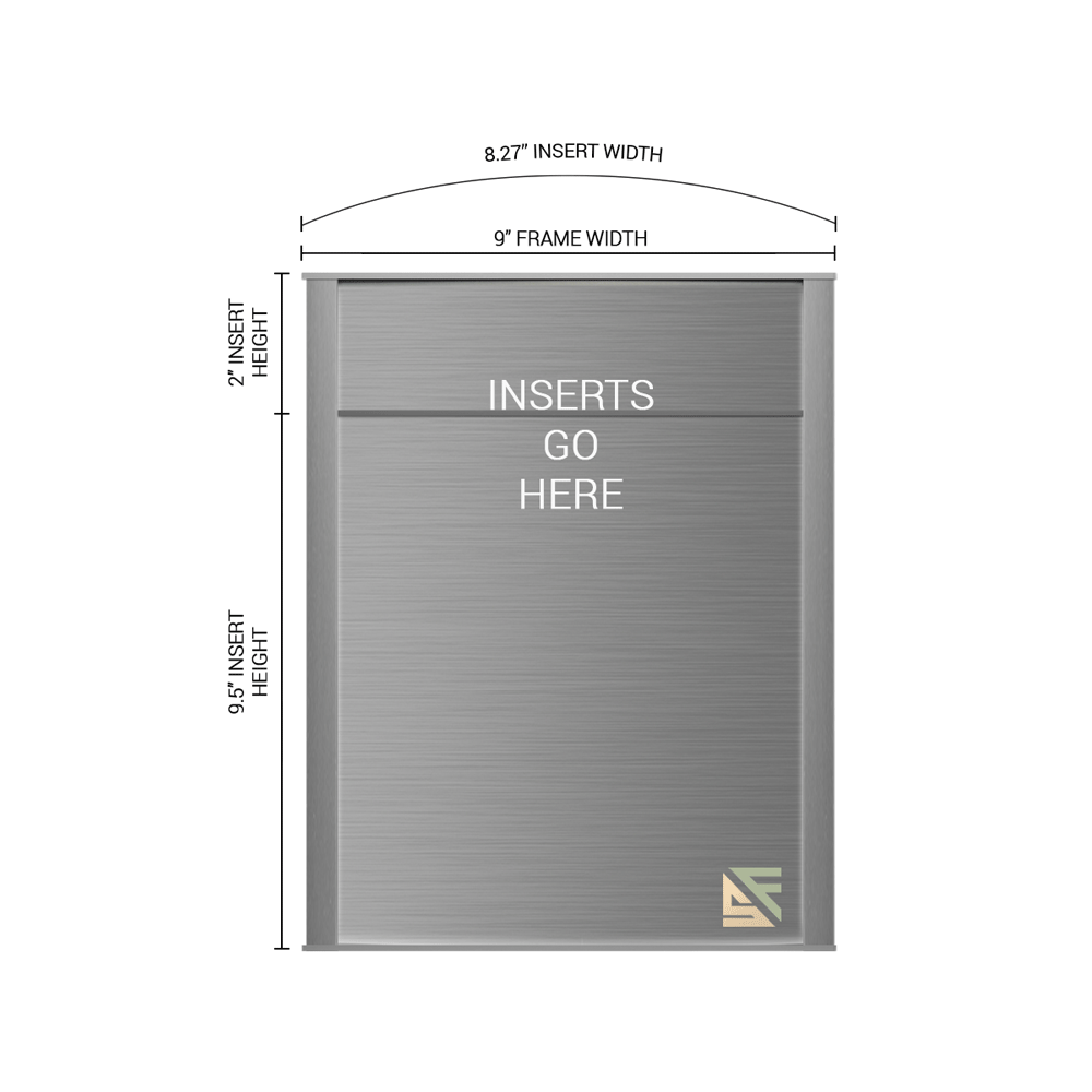 """Office Sign - 11.5""""H x 9""""W (2"""" Top) - WFNP67"""