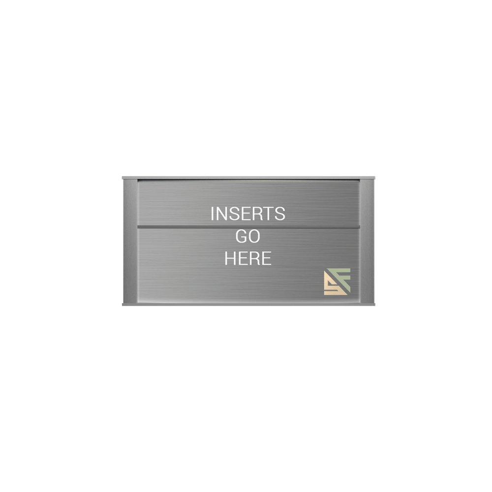 """Office Sign - 5""""H x 9.25""""W (2"""" Top) - WFNP77"""