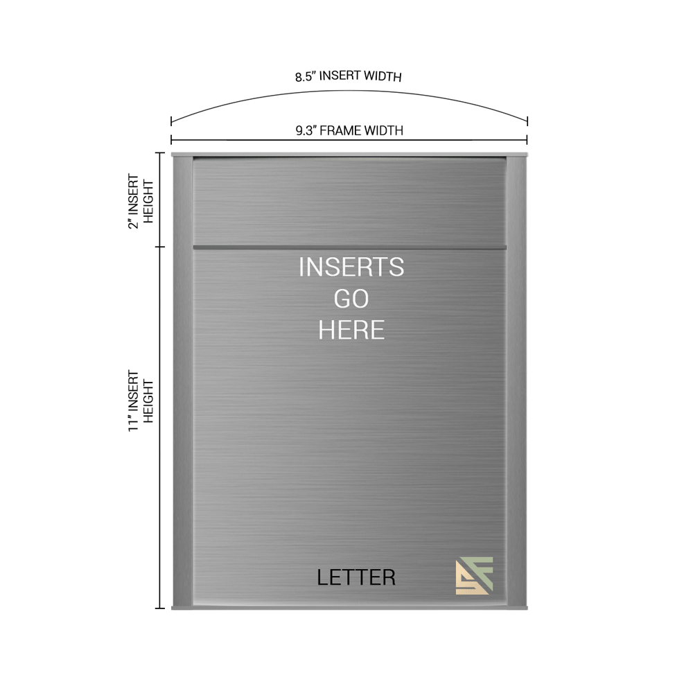 """Office Sign - 13""""H x 9.25""""W (2"""" Top) - WFNP86"""
