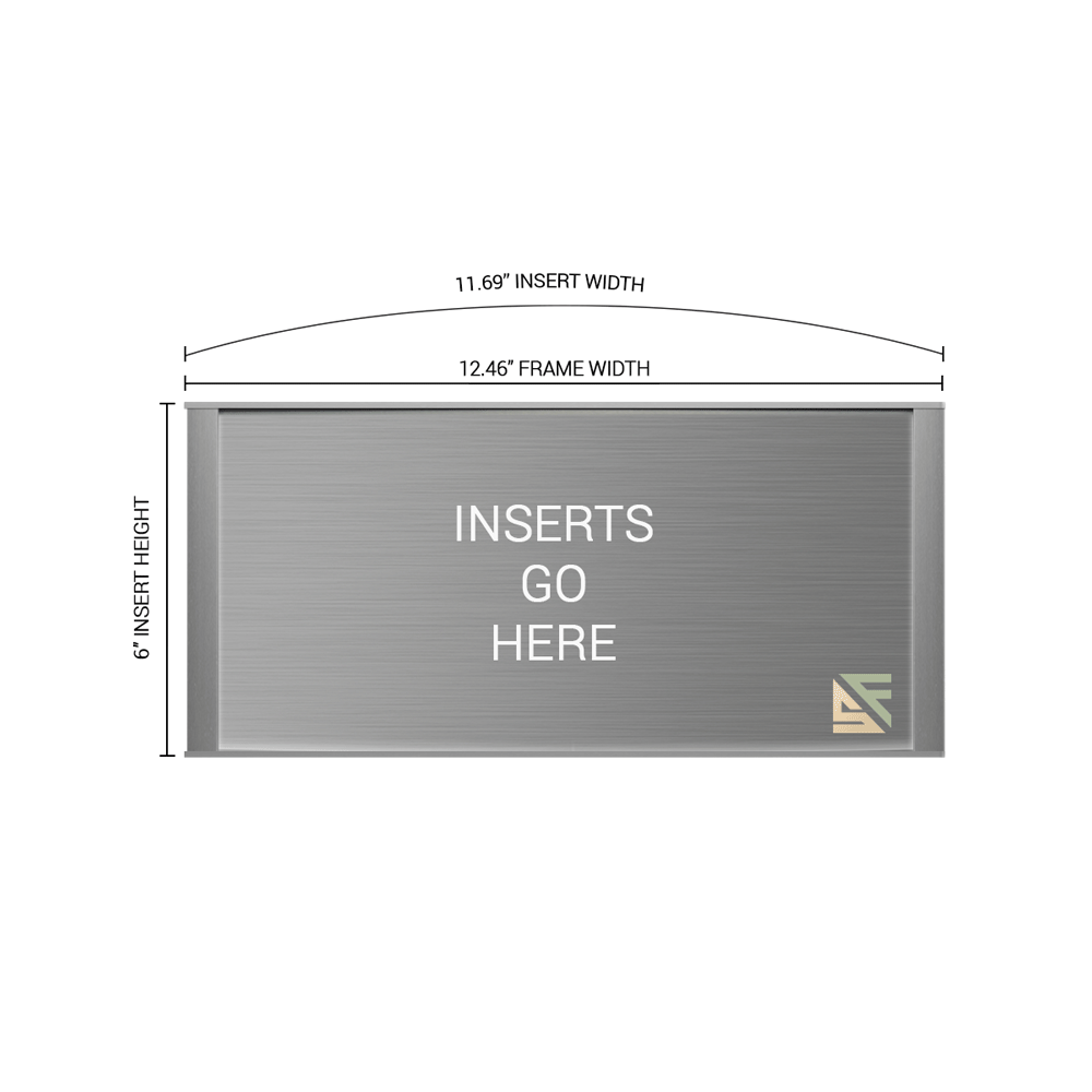 """Office Sign - 6""""H x 12.5""""W - WFNP92"""