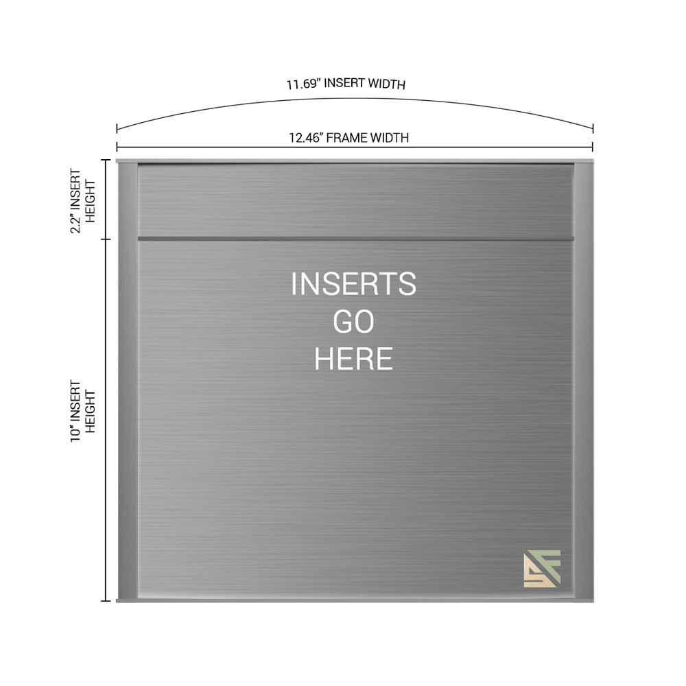 """Office Sign - 12.25""""H x 12.5""""W (2.25"""" Top) - WFNP99"""