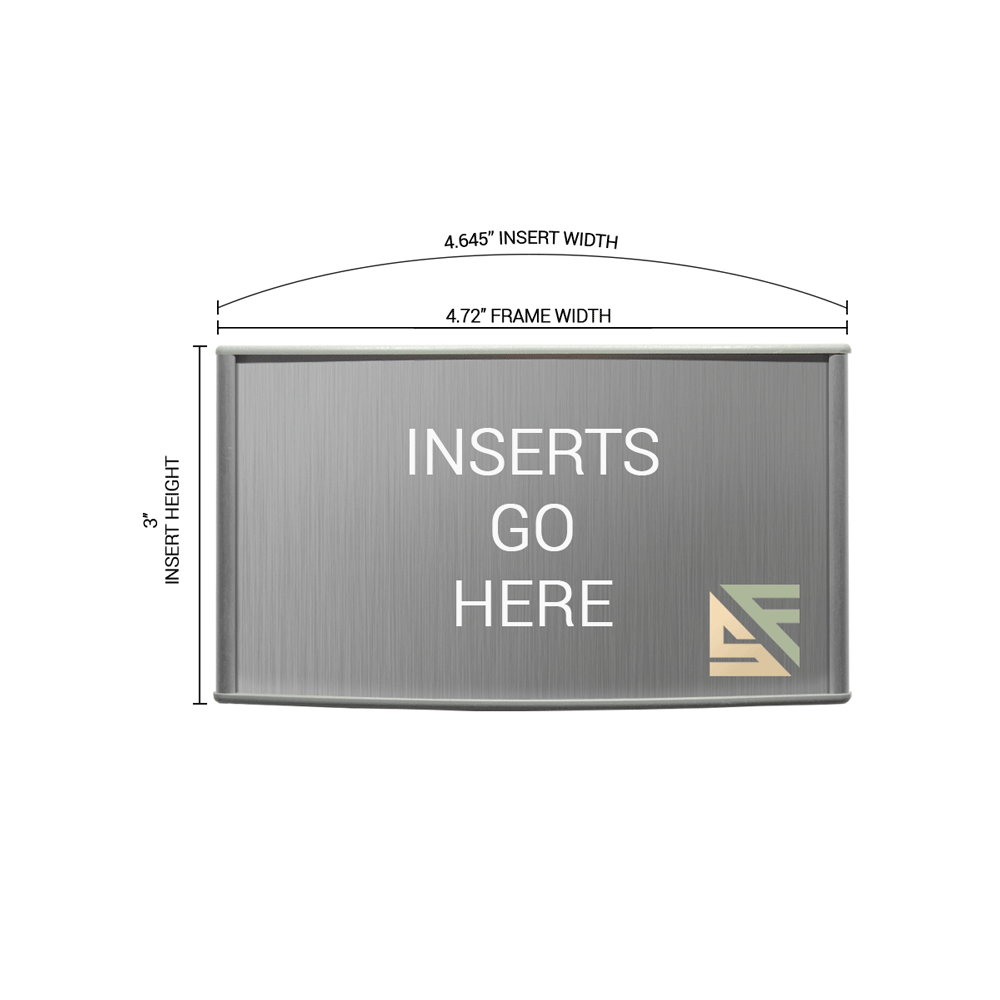 """Office Sign - 3""""H x 5""""W - WFP11"""