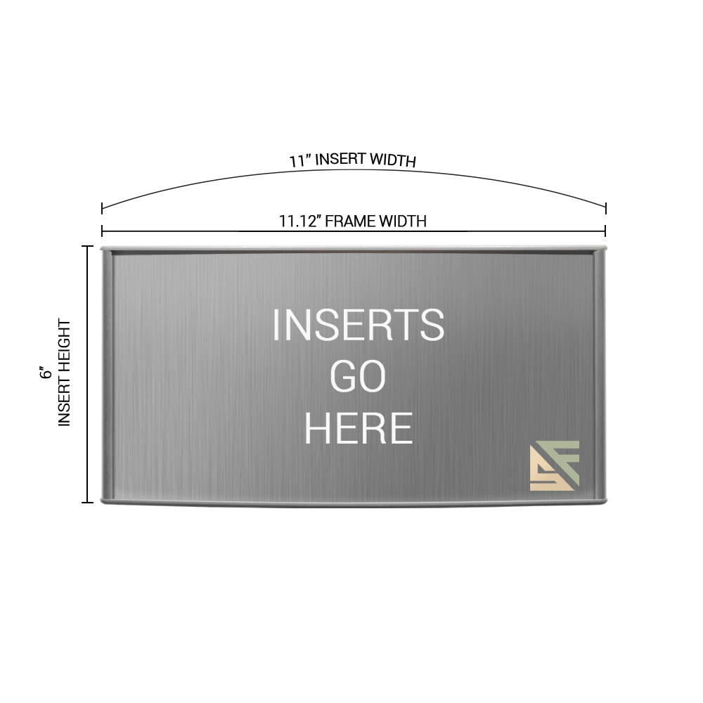 """Office Sign - 6""""H x 11""""W - WFP158"""