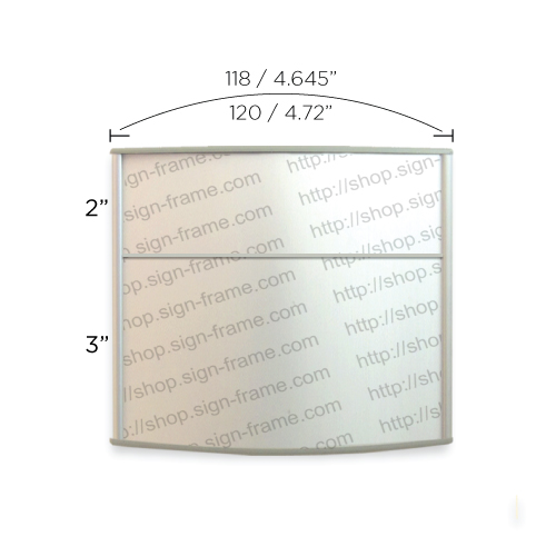 """Office Sign - 5""""H x 5""""W (2"""" Top) - WFP15"""