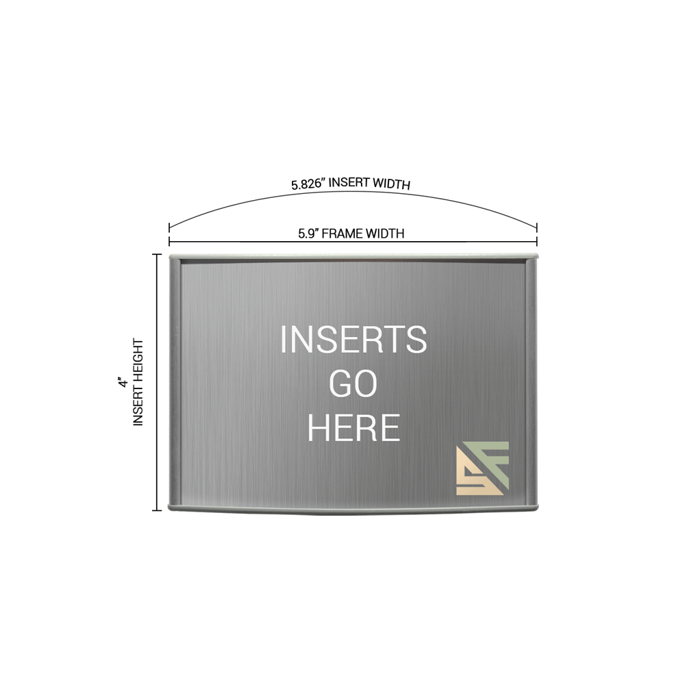 """Office Sign - 4""""H x 6""""W - WFP25"""