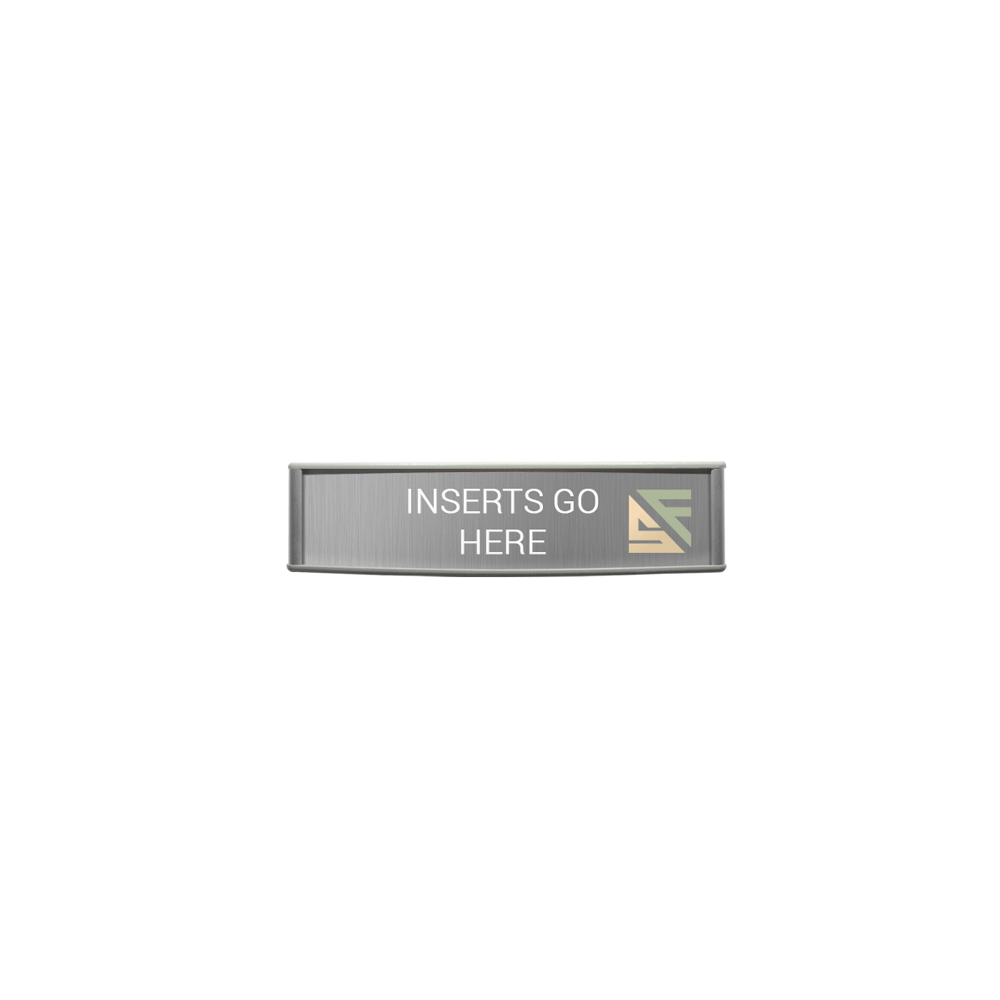 """Office Sign - 2""""H x 8""""W - WFP38"""