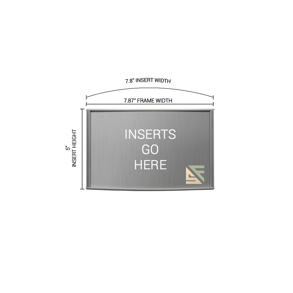 """Office Sign - 5""""H x 8""""W - WFP42"""