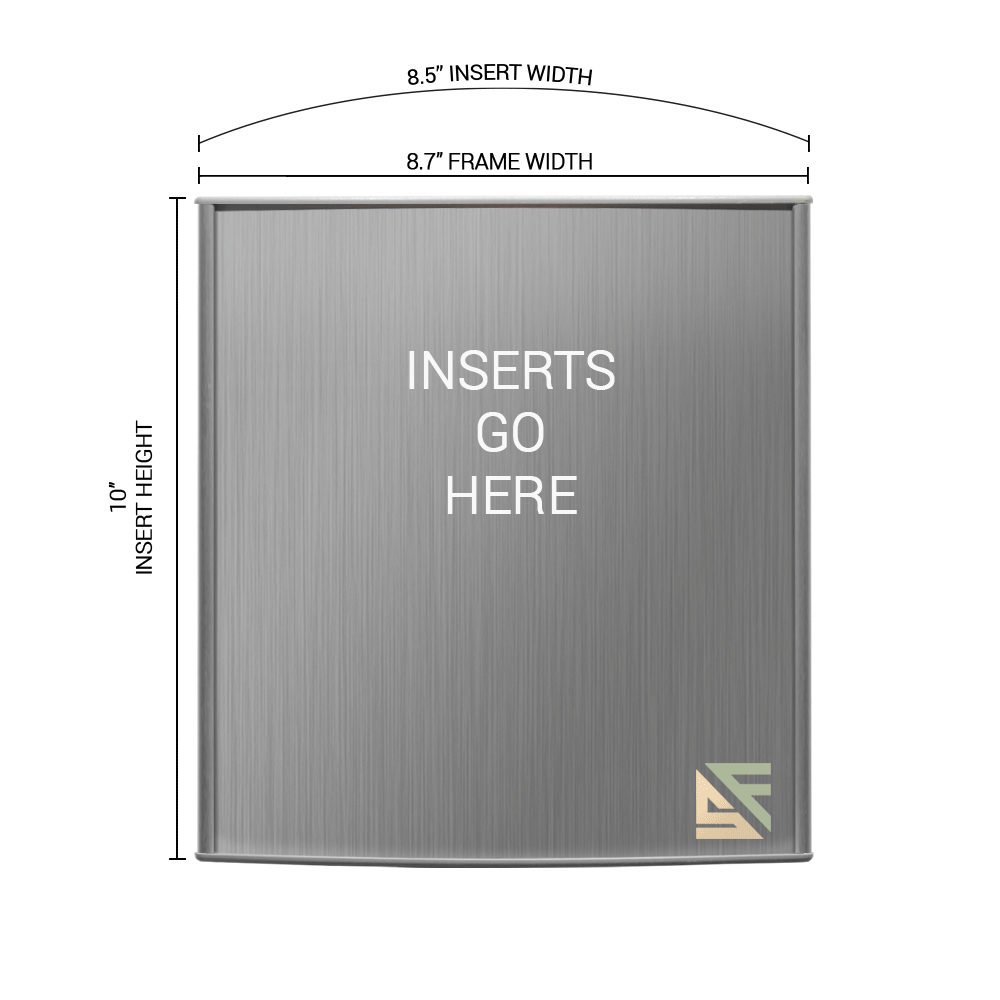 """Office Sign - 10""""H x 8.5""""W - WFP82"""