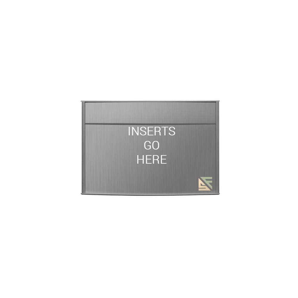 """Office Sign - 8""""H x 12""""W (2"""" Top) - WFP95"""