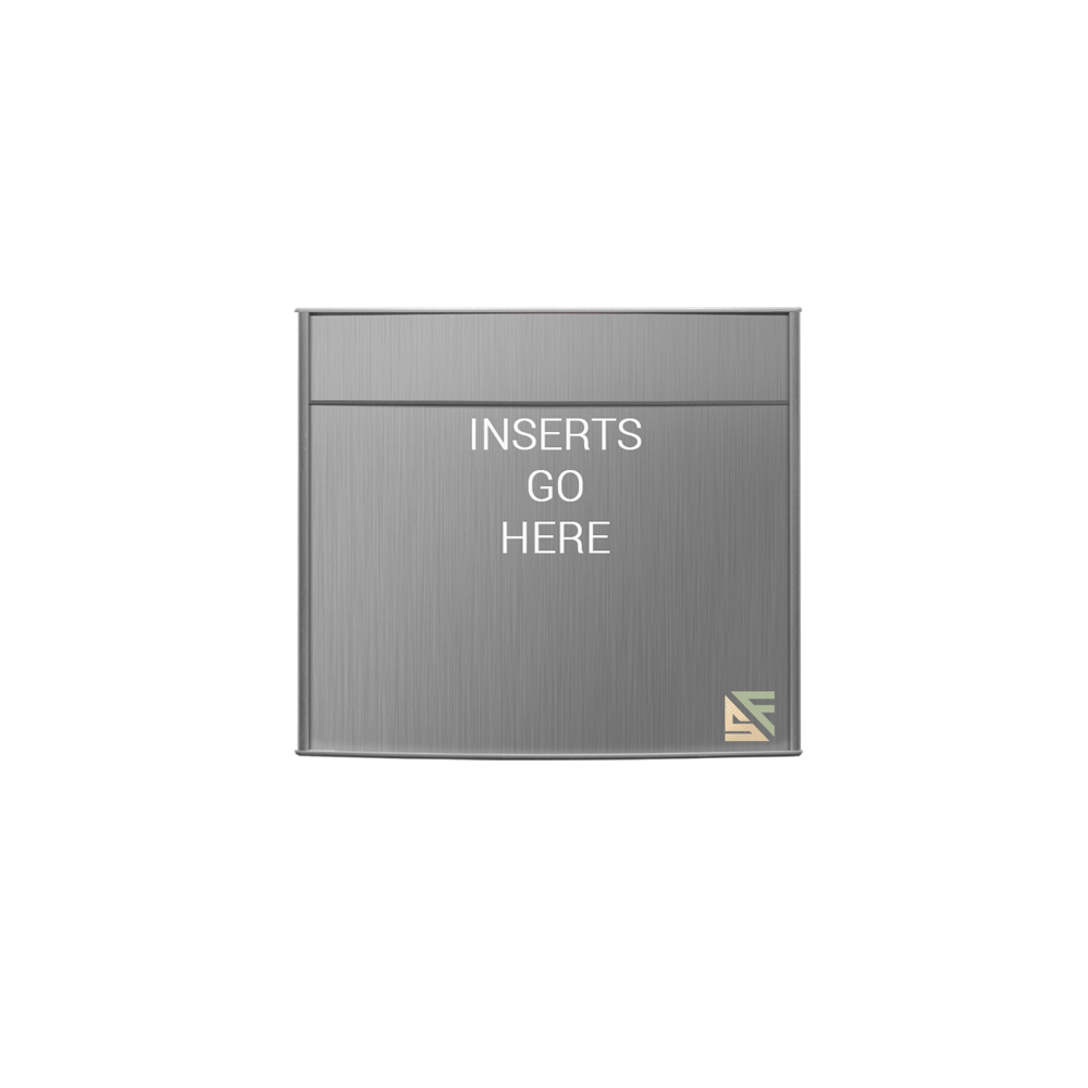 """Office Sign - 10""""H x 12""""W (2"""" Top) - WFP97"""