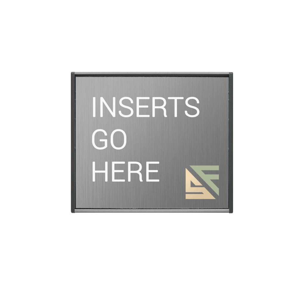 "Office Sign - 4""H x 4""W - WFS2E16"