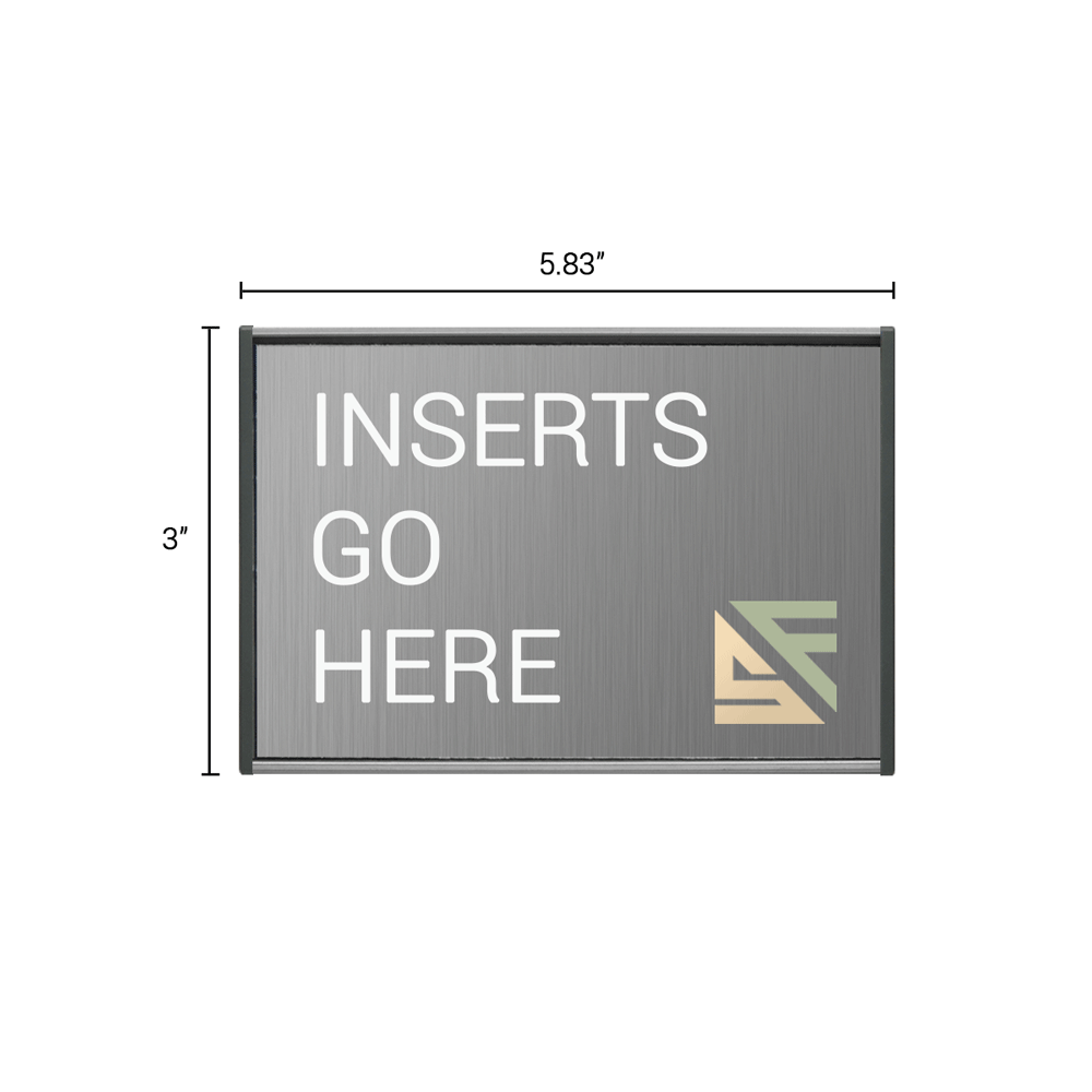"Office Sign - 3""H x 5.75""W - WFS2E30"