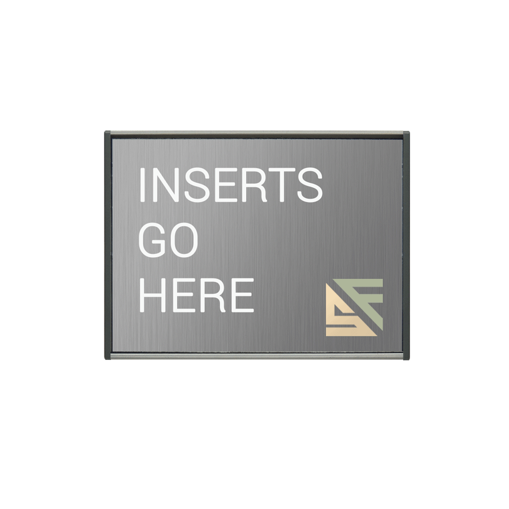 "Office Sign - 4""H x 5.75""W - WFS2E32"