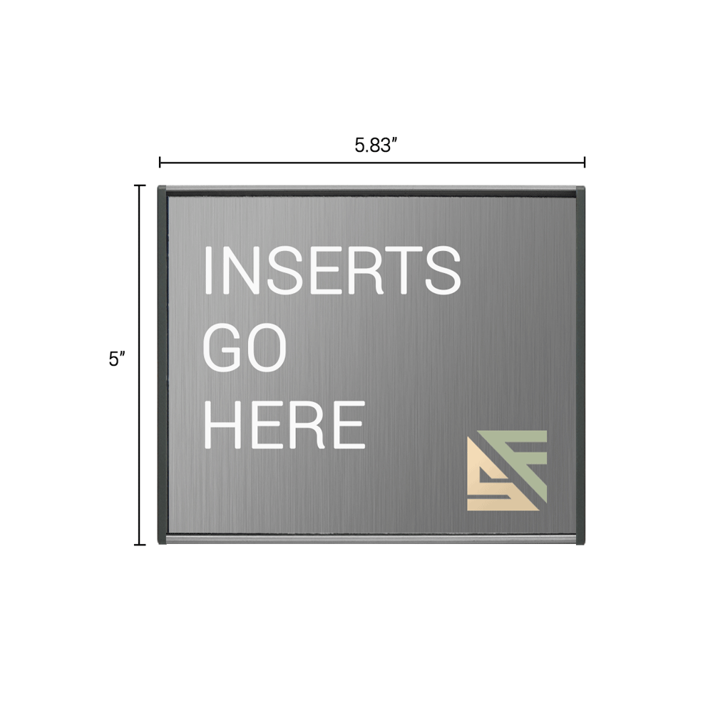 "Office Sign - 5""H x 5.75""W - WFS2E35"