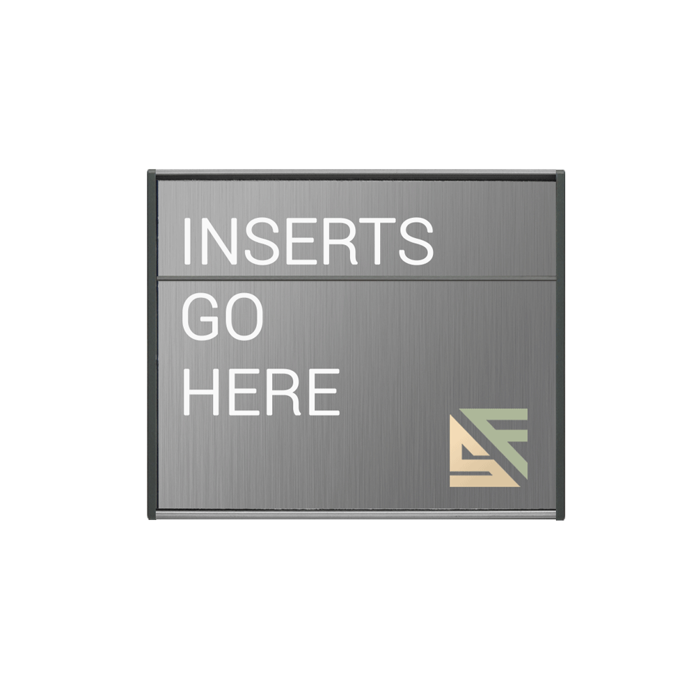"Office Sign - 5""H x 5.75""W (2"" Top) - WFS2E36"