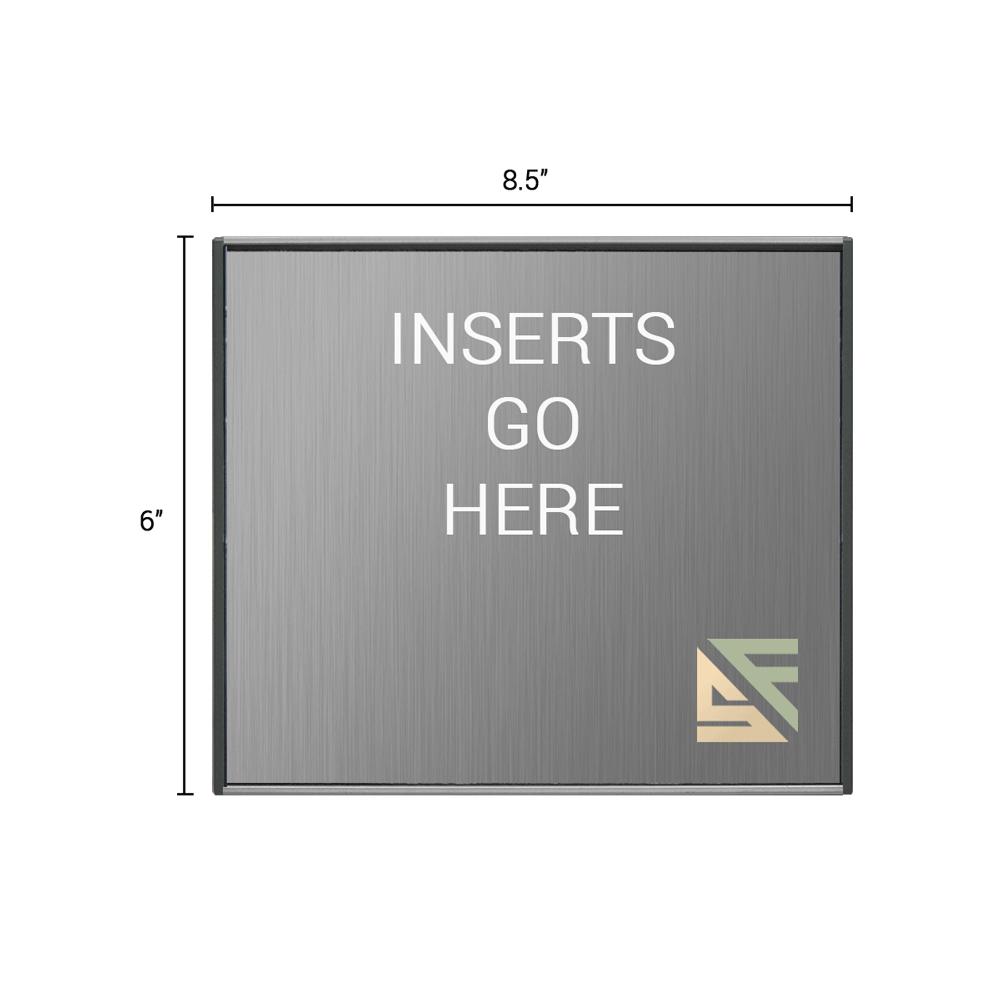 "Office Sign - 6""H x 8.5""W - WFS2E74"