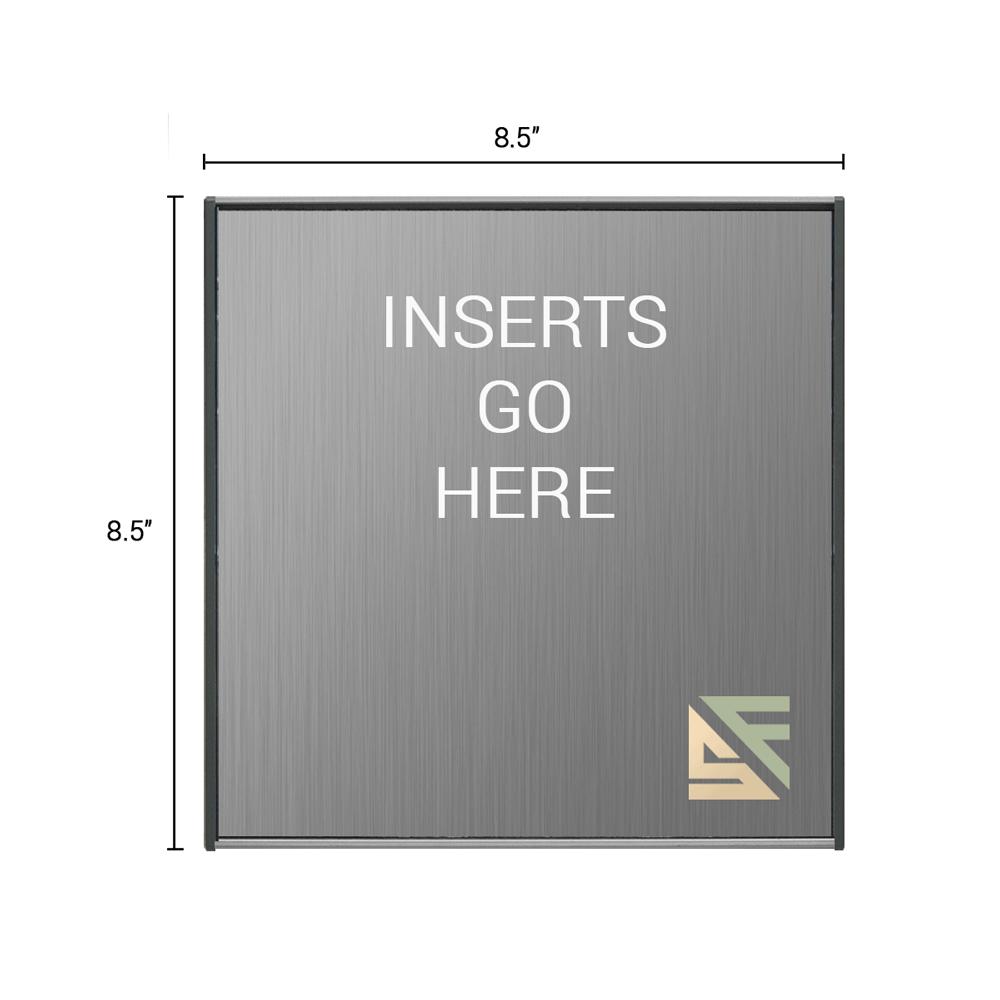 "Office Sign - 8.5""H x 8.5""W - WFS2E78"