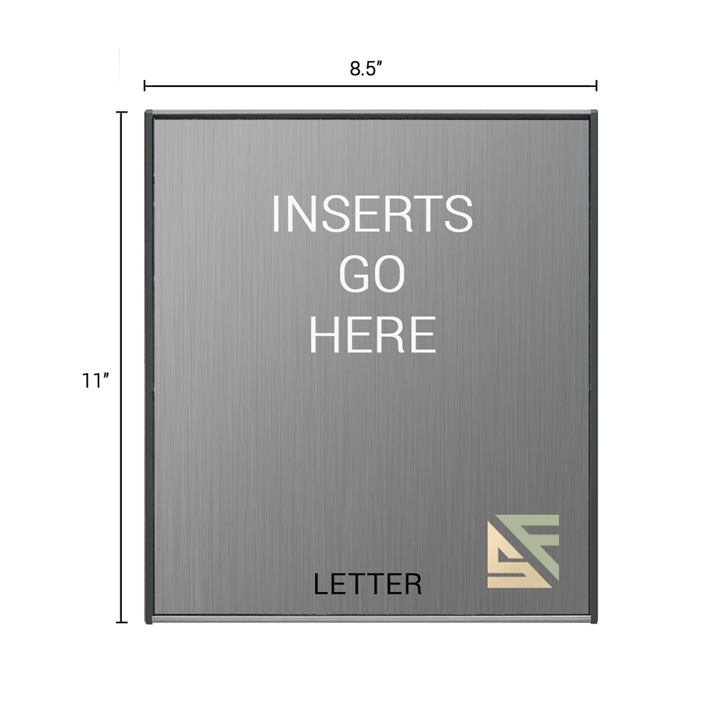 "Office Sign - 11""H x 8.5""W - WFS2E80"