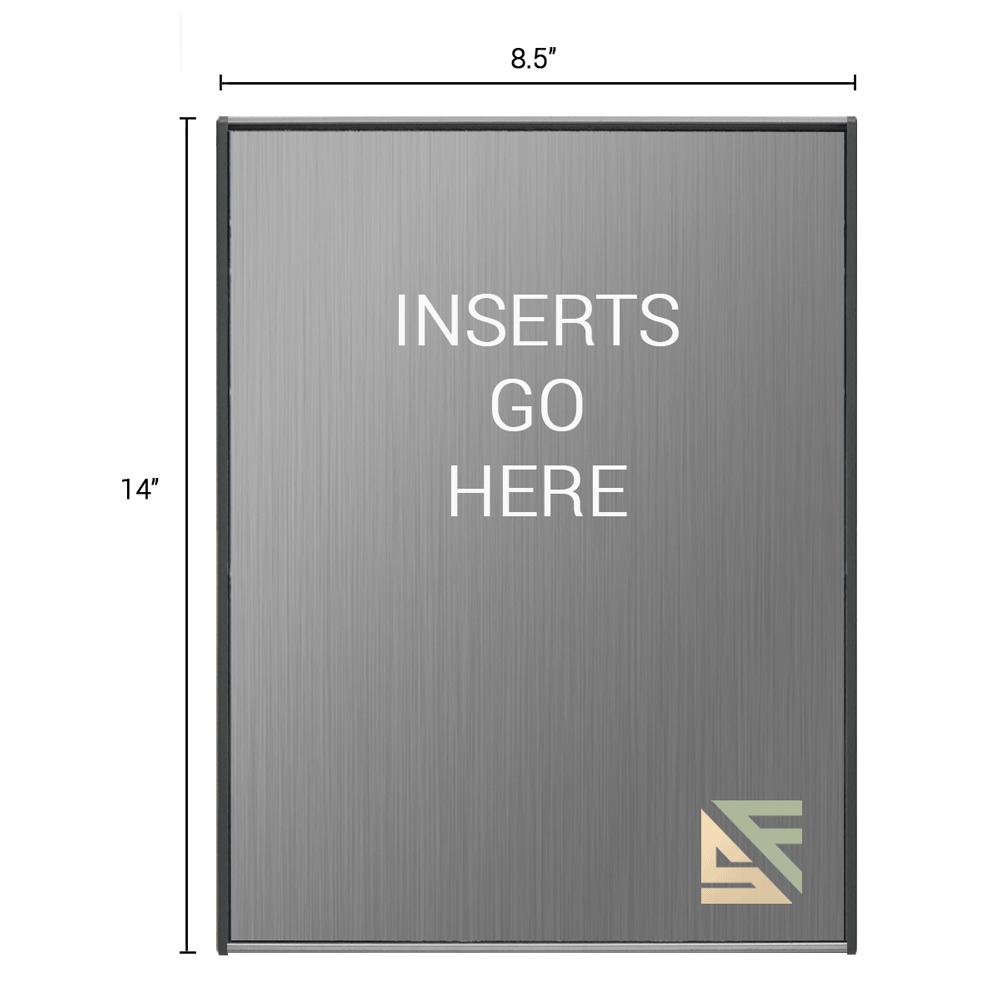 "Office Sign - 14""H x 8.5""W - WFS2E83"