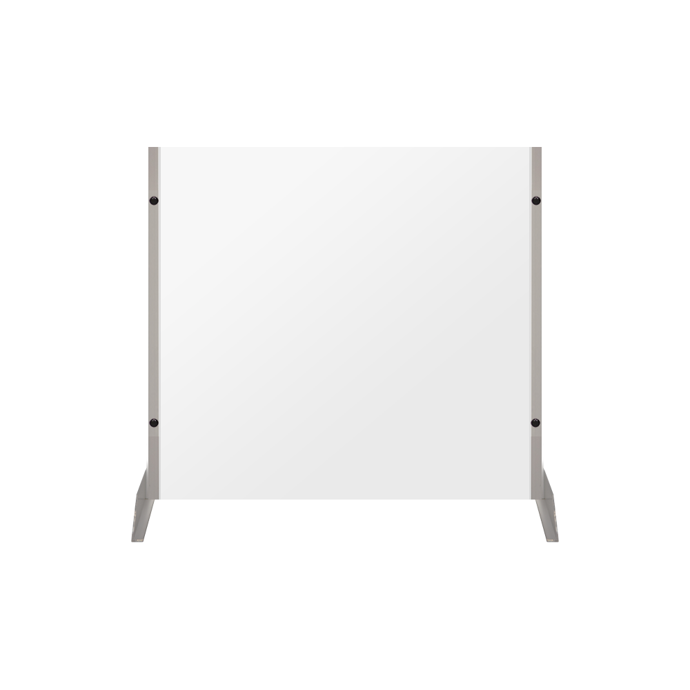 "Clear Acrylic Sneeze Guard - 30""H x 30""W - SG11"
