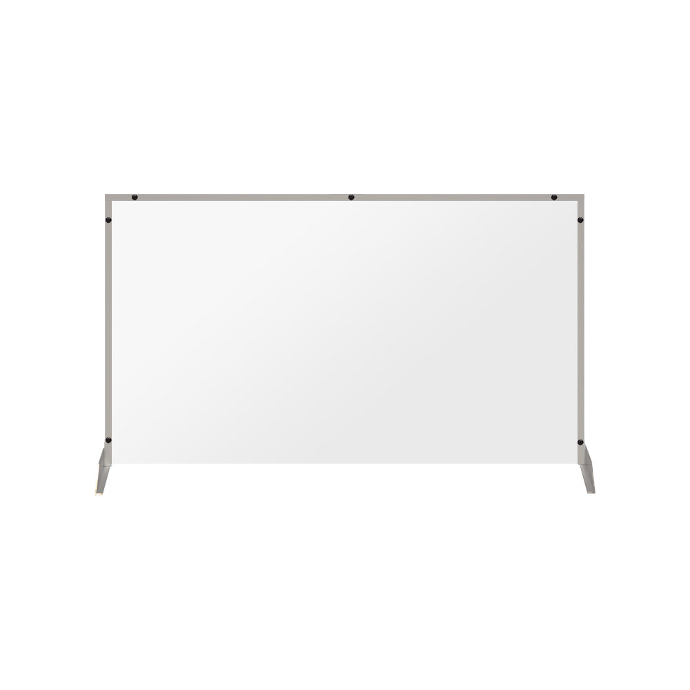 "Clear Acrylic Sneeze Guard - 30""H x 46""W - SG15"