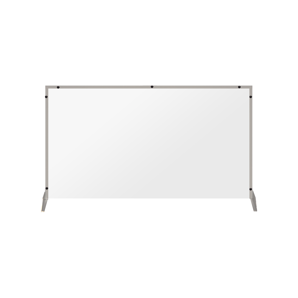 "Clear Acrylic Sneeze Guard - 36""H x 40""W - SG19"