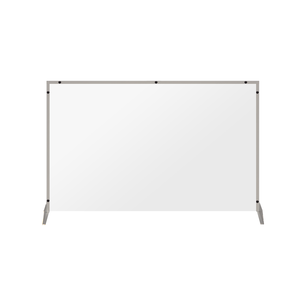 "Clear Acrylic Sneeze Guard - 36""H x 46""W - SG21"
