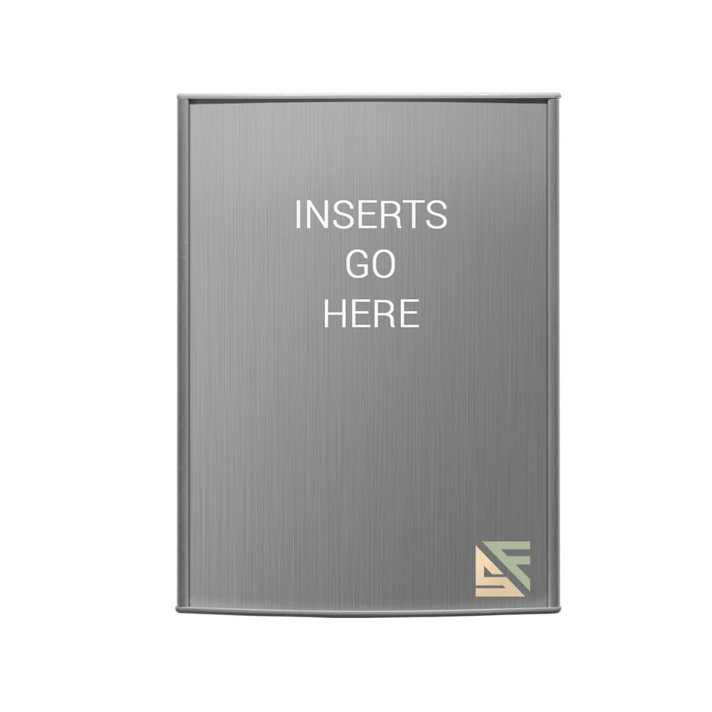 """Table Sign - 8""""H x 6""""W - T11"""