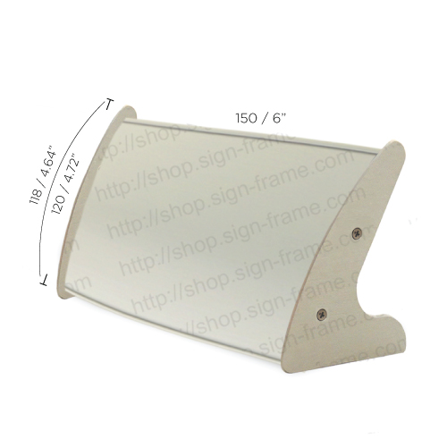 """Table Sign - 5""""H x 6""""W - T30"""