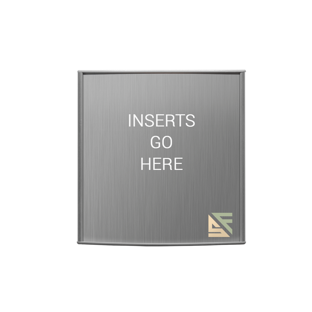 """Table Sign - 6""""H x 6""""W - T9"""