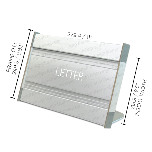 """Table Sign - 10""""H x 11""""W - TF52"""