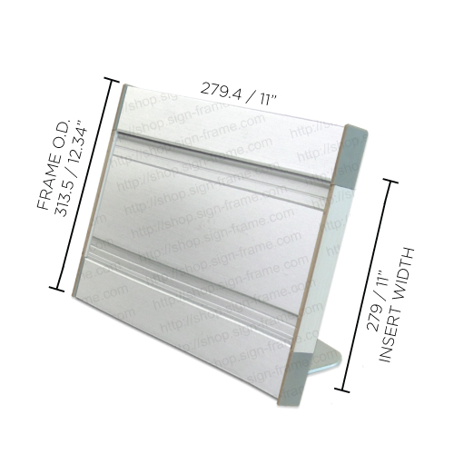 """Table Sign - 12.25""""H x 11""""W - TF55"""