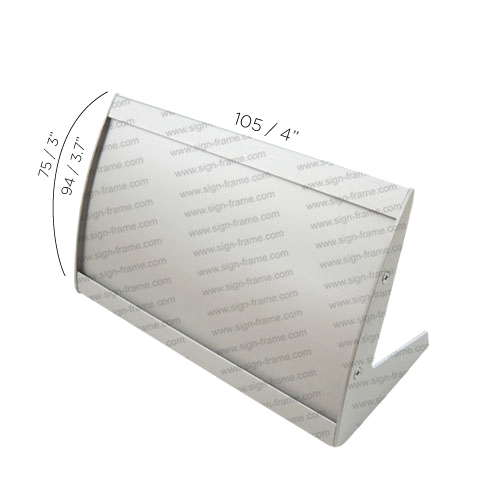 """Table Sign - 3.75""""H x 4""""W - TN24"""