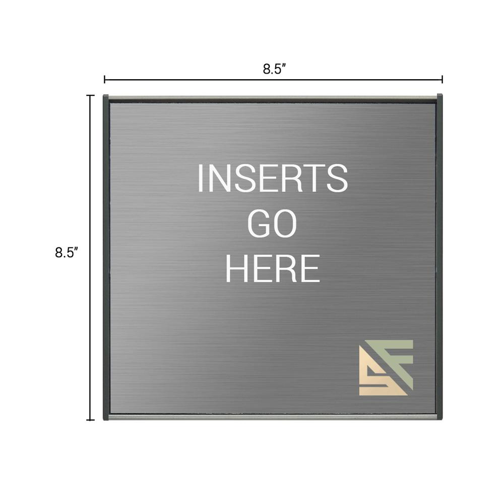 "Table Sign - 8.5""H x 8.5""W - TS2E20"