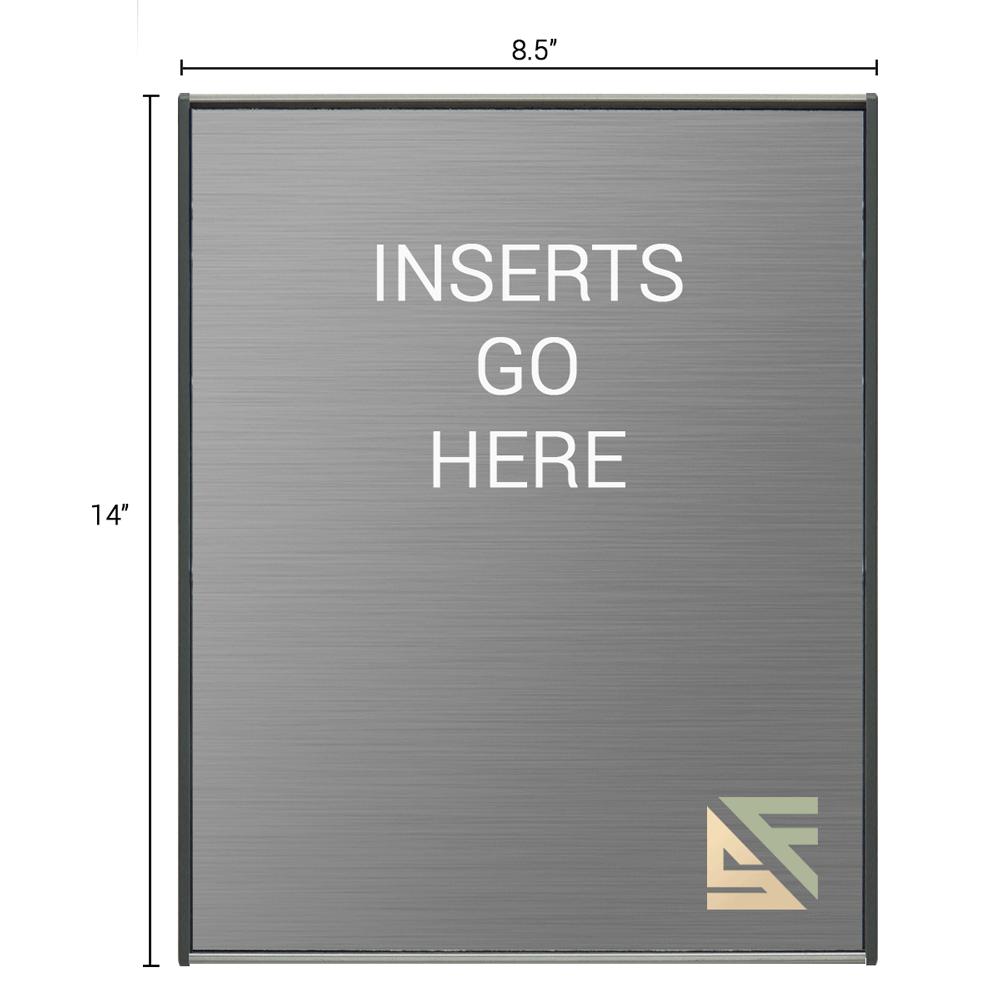 "Table Sign - 14""H x 8.5""W - TS2E22"