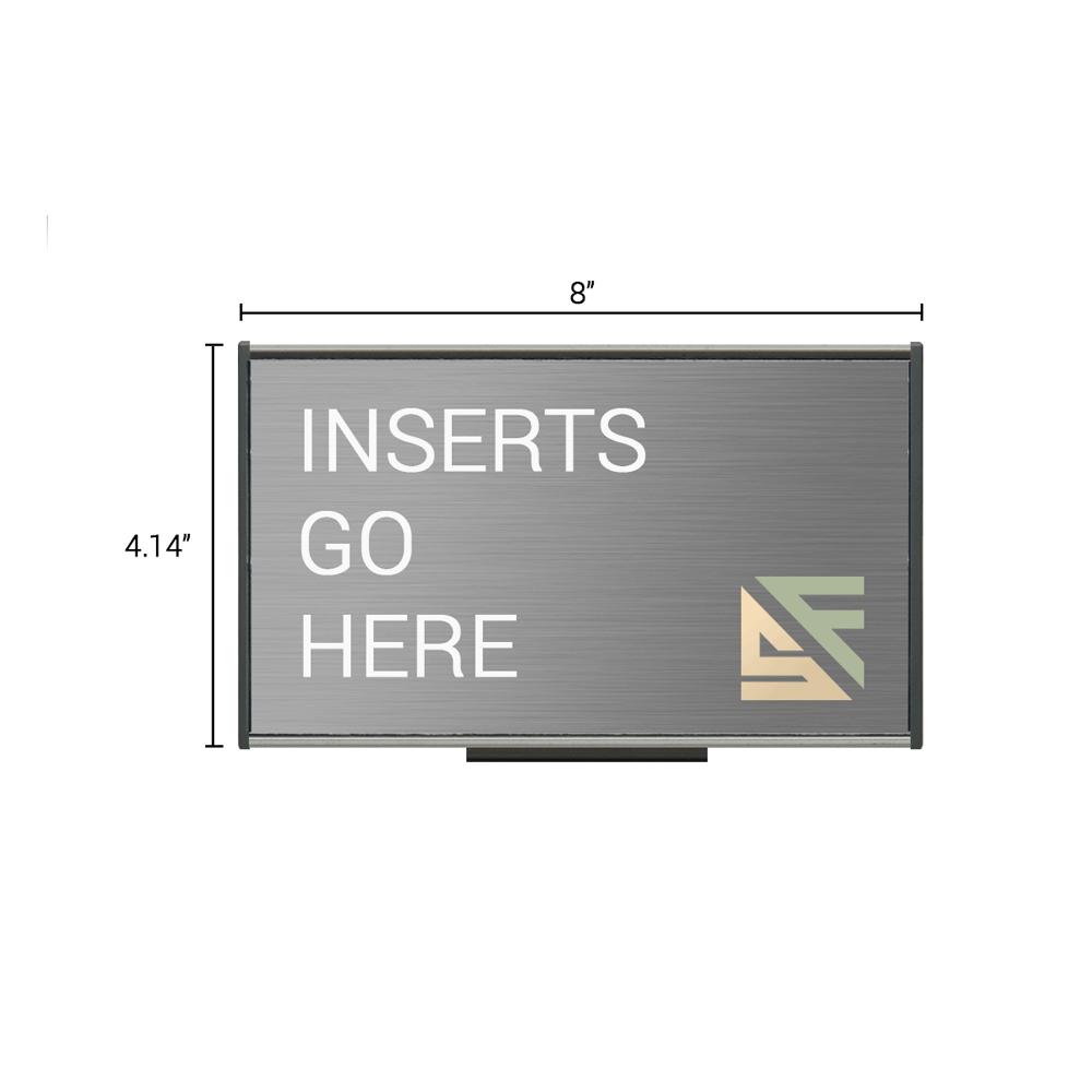 "Table Sign - 4.25""H x 8""W - TS2E6"