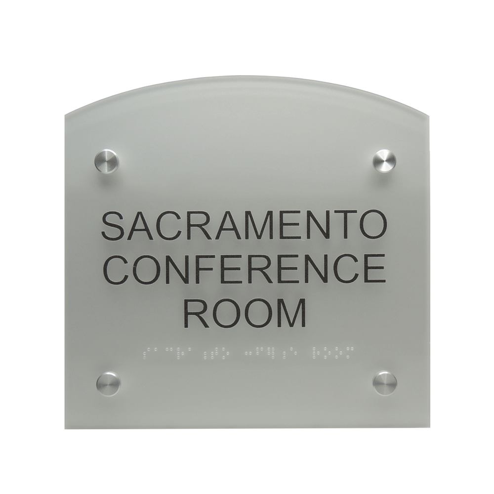 "ADA Braille Sign - 7.875""H x 7.875""W - DENALI15"