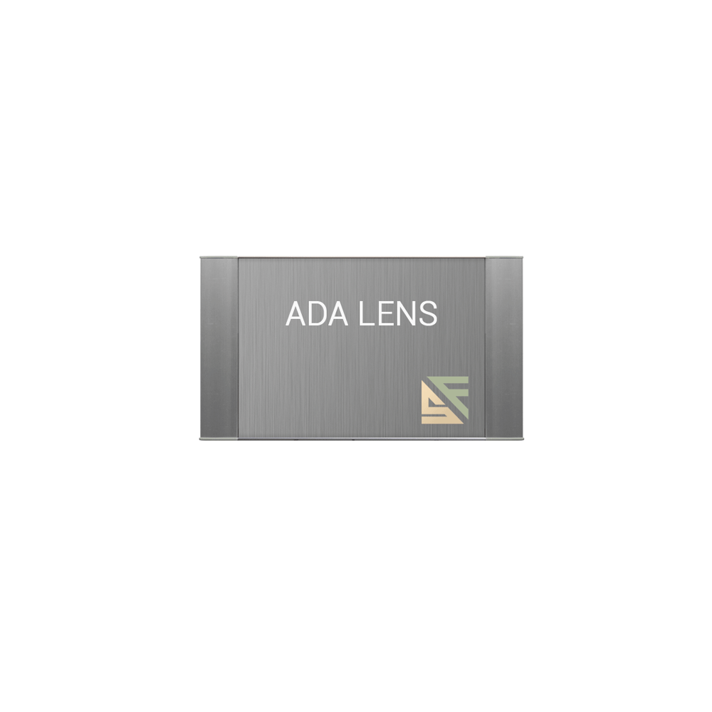 "ADA Braille Office Sign - 3""H x 6.25""W - VC-WFFP11"