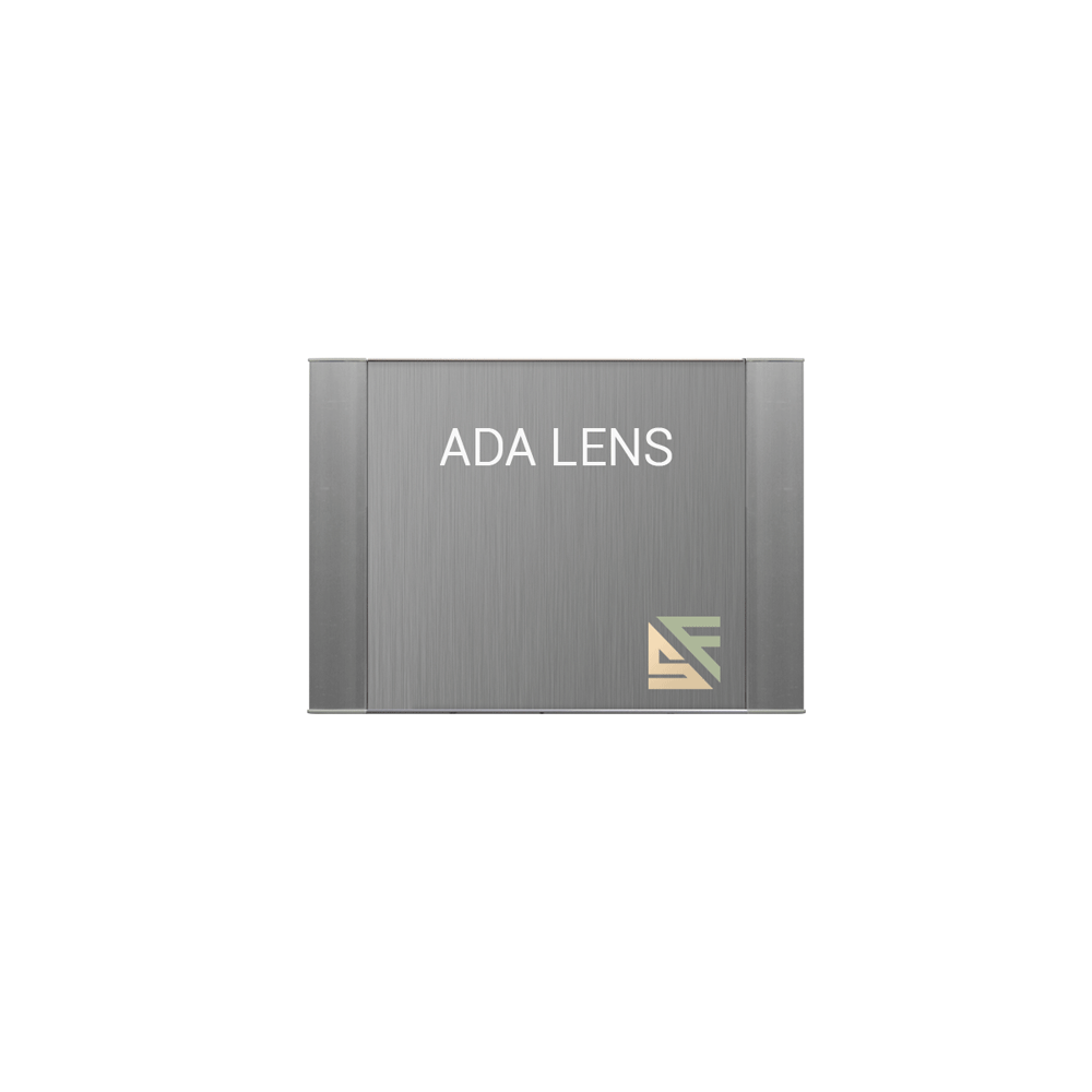 "ADA Braille Office Sign - 4""H x 6.25""W - VP-WFFP12"
