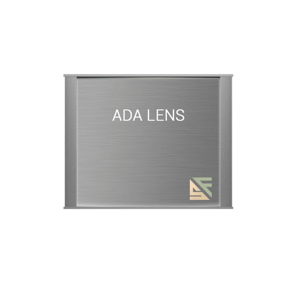 "ADA Braille Office Sign - 6""H x 6.75""W - VP-WFNP30"